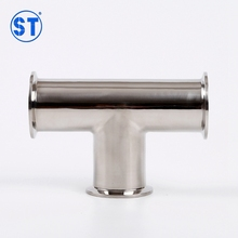Stainless Steel Quick Tee Three Way Pipe Connection Joint Fitting