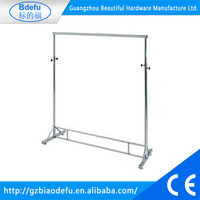 2016 New Style cheap clothes racks Garment Metal Display Stand