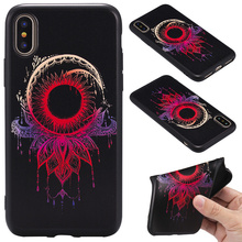 Free sample high quality shockproof soft TPU 3D colorful painted mobile phone case for LG K8 K10 phone accessory