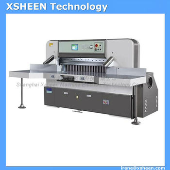 115 Paper Trimmer hydraulic guillotine cutting machine XHQZK920