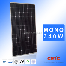 monocrystal silicon solar panel 340w with best price