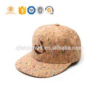 New Fashion Hip-Hop Snapback Baseball Cap Adjustable Hats 100% Cork Wood