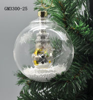 factory supplier Santa Claus hotsell sell glass christmas snow globe