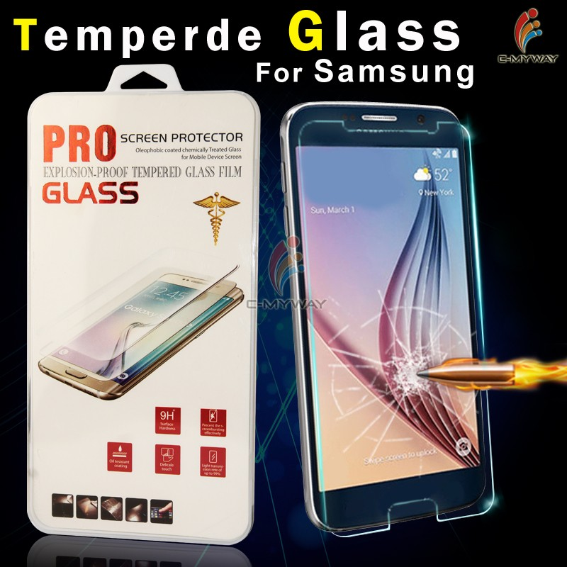 Factory Price! Ultra clear 0.33mm 2.5D 9H Anti-shock smart phone tempered glass screen protector for Samsung Galaxy A5 2016