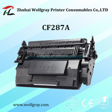 2016 Hot sale new toner cartridge compatible for HP CF287A 87A