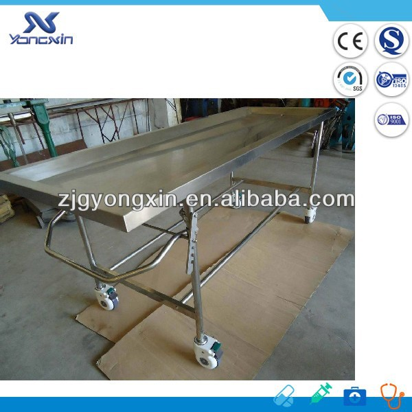 Funeral Mortuary table/Embalming Table/Autopsy table