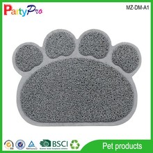 2015 Pet Products Supply Hot Selling PVC Safety Mat Dog Cat Paw Cleaning Mat Pet Dog Cushion Pet Cushion