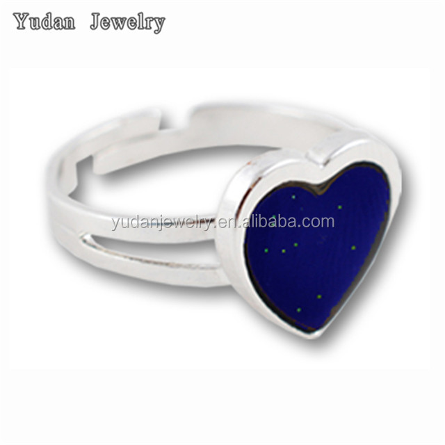 fashion jewelry wholesale custom adjustable heart ring