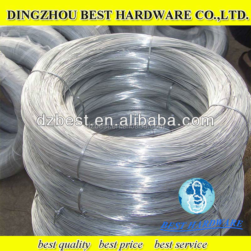 low price raw material galvanzied iron wire