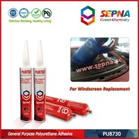 China Windshield Sealant for Automobile Repair 1-C Polyurethane Solvent Free High Adhesion PU