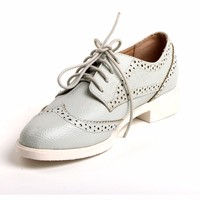 TongPu High Quality Latest Design Mint Color Women Casual Shoes