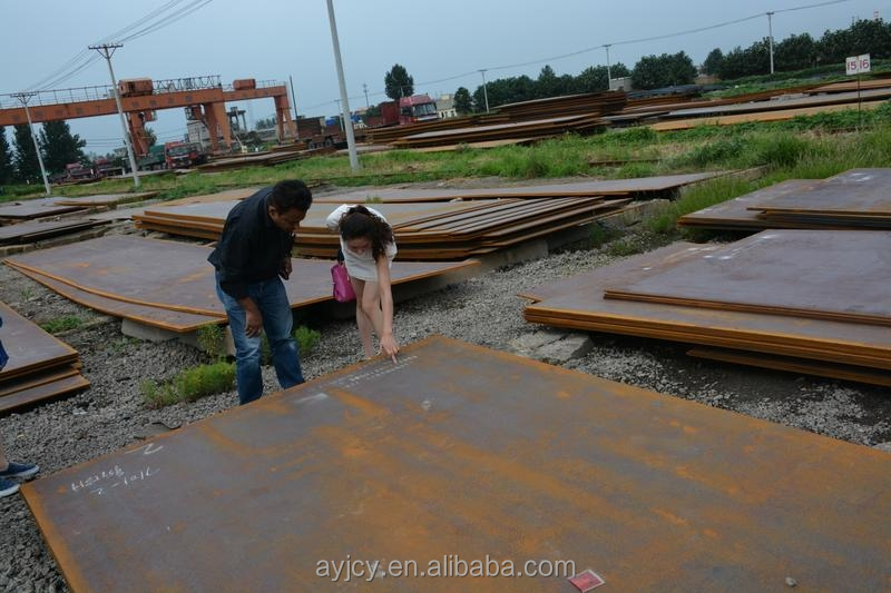 Factory price S355J2WP Corten Steel Plate