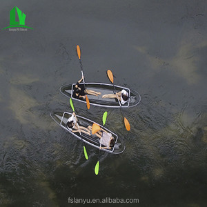 portable transparent trolley kids river single kayak