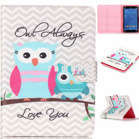 7 inch Tablet Case Cover Protective Leather Cases Universal Folding Stand Covers for 7 inch Android Tablet PC