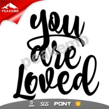 Vinyl Letters You Are Loved heat transfer printing film