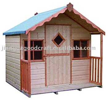 WOODEN KID PLAY HOUSE
