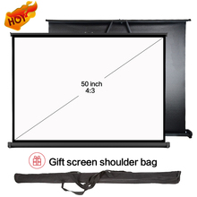 50 inch wall mount full hd screen multitouch table projector screen for outdoor activities meetings