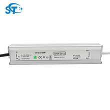 30w AC 220v to DC 12V Volt Led Strip Driver Transformer Switching Power Supply(SHA-3012 )for led lighting with CE EMC LVD