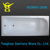 well sell acrylic bath tub, simple bathtub from Xuancheng City passed CE and ISO9001