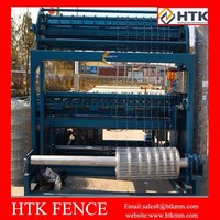 Horse pasture fencing machine