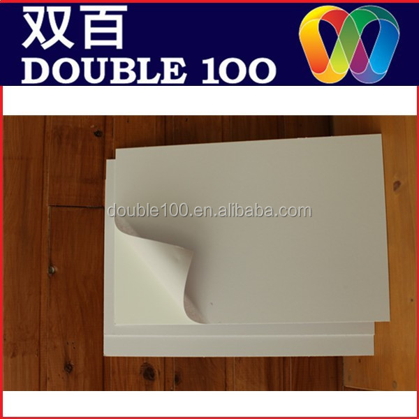 high quality Double sided self adhesive pvc sheet for photo album