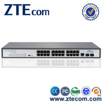 Made in China Supplier 24 port desktop gigabit poe switch