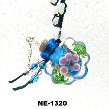 Glass Hollow Ball Aroma Vial Fashion Jewelry Pendant