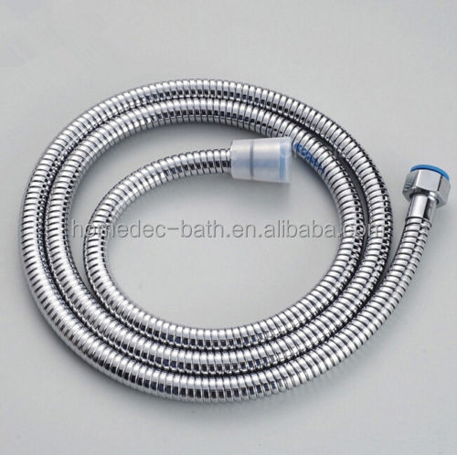 Stainless steel shower bidet toilet flexible hose with brass fitting connectors