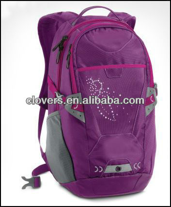 promotional girls college backpack with special design