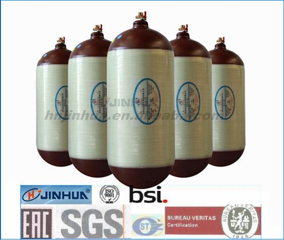 CNG Gas Cylinder Type 2 For Vehicles Capacity 45-150L