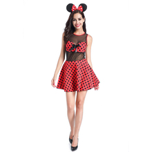 Fammez cartoon character women sexy animal role play carnival costumes