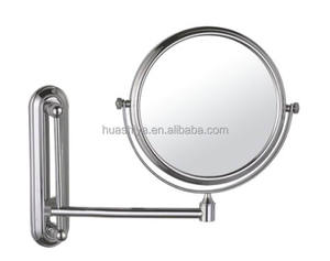 HSY-1228 antique makeup compact magnifying mirror wall mounted cosmetic mirror