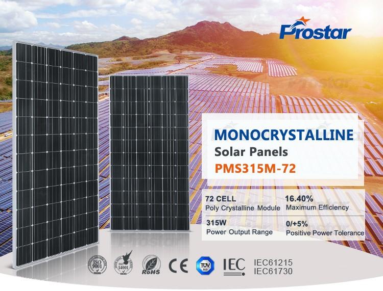 solar pv modules mono 315w