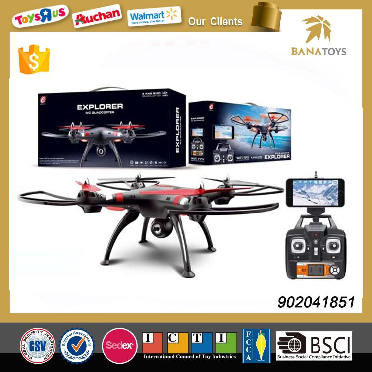 Free Shipping 4Ch Wifi racing fpv drone quadcopter with hd camera