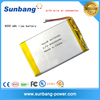 tablet pc replace battery 3.7V 8000mah external battery for laptop