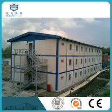 Steel frame school buildings 20ft container student dormitories