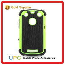 [UPO] Promotion Hybrid Combo 3 in 1 Hard Plastic Silicon Phone Case for Blackberry 9360