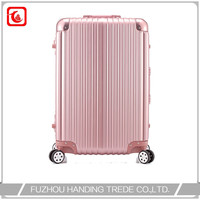 famous brand travel world luggage trolley bag suitcase