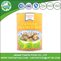 processed food manufacturer canned steamed beef