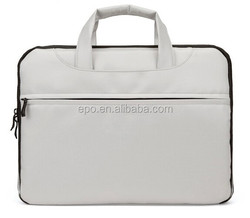 2018 Best brand white laptop computer bag with top quality