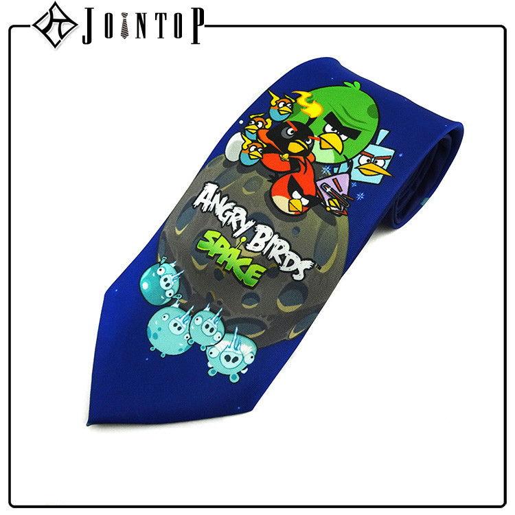 crazy selling anime tie , print anime necktie wholesale