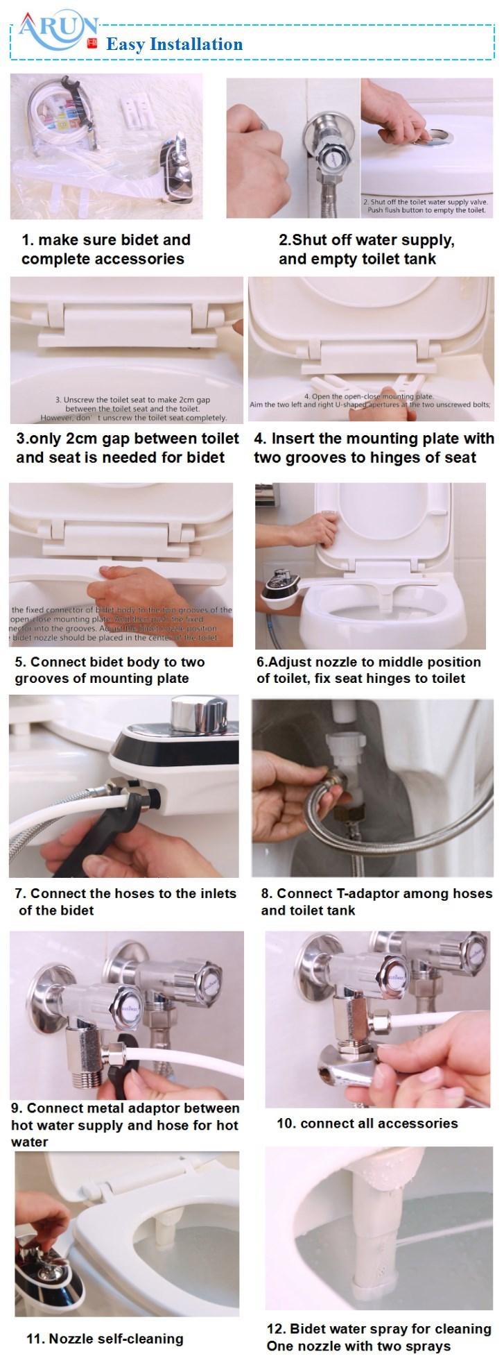 enema nozzle toilet bidet