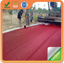 Go Green cold mix color asphalt used mainly on roads, car parks, and path ways