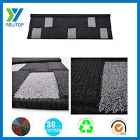 Shingle type stone coated galvalume colorful metal sales roofing products