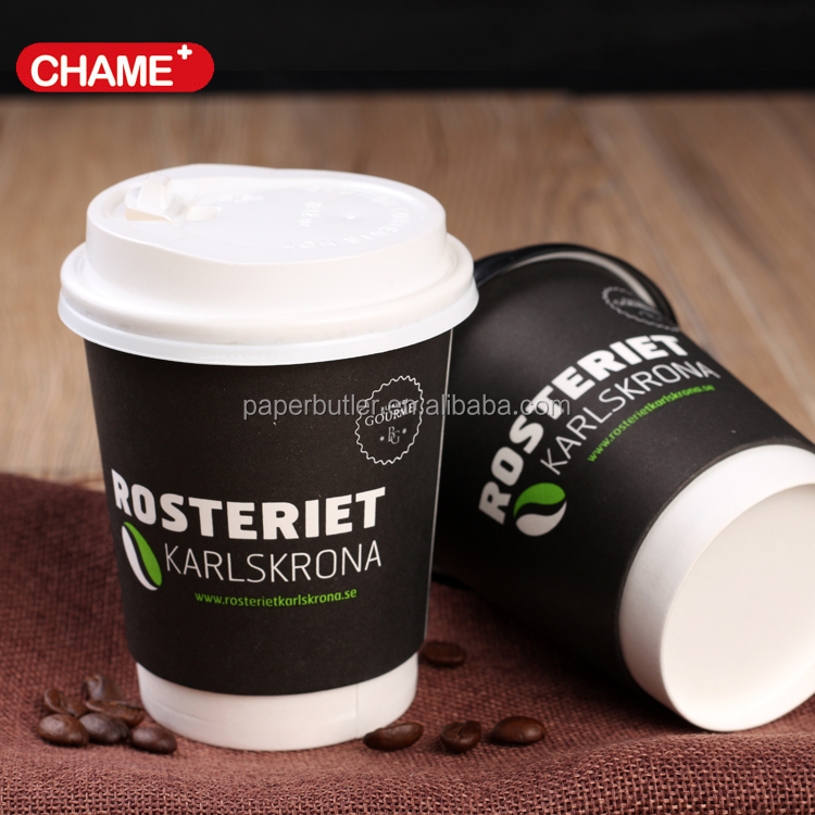 Hollow paper cup for instant coffee packing 500ml