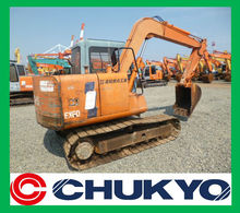 Hitachi EX 60 - 3 Used Backhoe <SOLD OUT> / Bucket capacity : 0.25 m3 , Cab , Nissan Engine