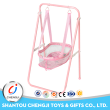 2017 China manufacturer hanging baby swing for doll