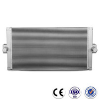Air Cooled Aluminium Hydraulic Oil Cooler with fan motor