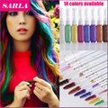 Professional Temporary Hair Color Pastel hair Cream Hair Dye Gradient Highlights & Streaks Hair Color Mascara