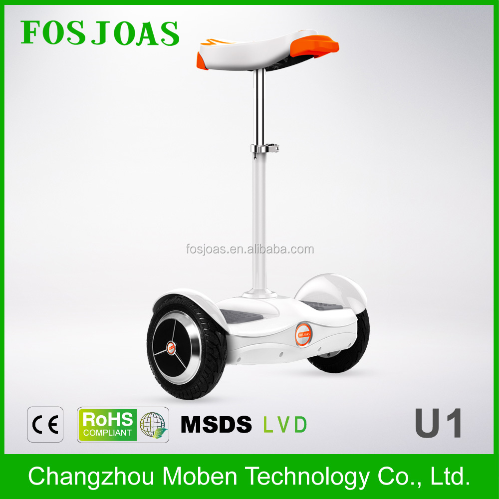 LATEST!!!Fosjoas <strong>U1</strong> Best Airwheel cheap 2 wheels powered unicycle smart drifting for adults with seat With App